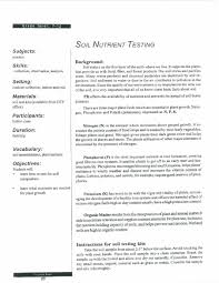 9th grade biology lessons emerson soil sample data sheet