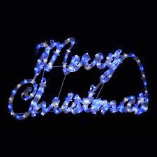 light up merry sign lights decoration