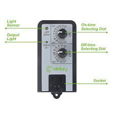 Amazon Com Titan Controls Dual by Century Short Period Repeat Cycle Timer Day Night Or 24 Hours