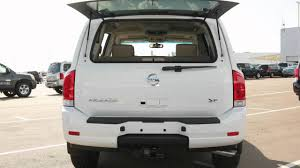 2015 nissan armada rear glass hatch youtube