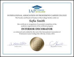 Makeup Artist Courses Online Interior Design Certification Extraordinary Interior Design Ideas