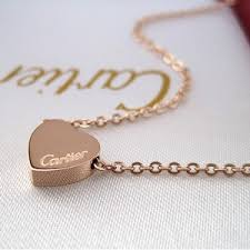 cartier heart necklace images 64 best i love cartier images rose gold cartier jpg