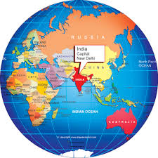 asia globe map where is india world globe and on the map grahamdennis me