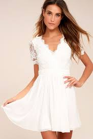 white lace dress lovely white lace dress lace skater dress lwd