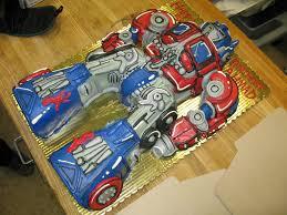 optimus prime birthday optimus prime cakes decoration ideas birthday cakes