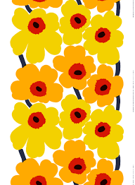 Marimekko Shower Curtains That Flower Design On Your Shower Curtain It Just Turned 50