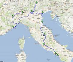 Google Maps Costa Rica Italy Road Trip Itinerary The Best Route With Maps And Videos