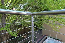 cable deck railing kits cable deck railing settings and