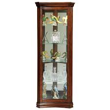 Images Of Curio Cabinets Amazon Com Pulaski Concave Corner Curio 28 By 16 By 72 Inch