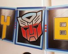 printable transformers birthday banner free printable transformers birthday banner em pinterest