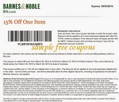 Barnes And Noble Coupns Barnesandnoble Coupons Barnes And Noble Printable Coupons Coupon