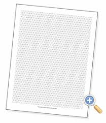 printable isometric paper a4 isometric graph paper worksheetworks com