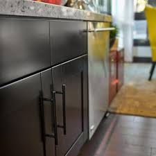 black kitchen cabinets with black hardware photos hgtv