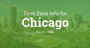Time Zone Map Us by Daylight Saving Time Dates For Usa U2013 Illinois U2013 Chicago Between