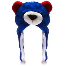 Chicago Cubs Map by Chicago Cubs Cub Head Silly Hat
