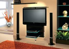 Tv Stands Furniture Wall Mounted Floating Tv Stand U2013 Flide Co