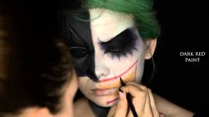 half face halloween makeup ideas halloween makeup tutorials 2015 batman vs joker makeup halloween