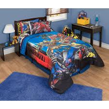 Transformer Bed Set Transformers 4 Battle Royale Reversible Comforter Blue