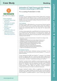 automation of trade finance and other banking processes using newgen u0027 u2026