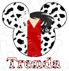 halloween disney shirts cruella deville mickey mouse head instant download digital clip