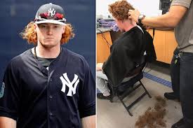 clint frazier u0027s hair was too much for the yankees new york post