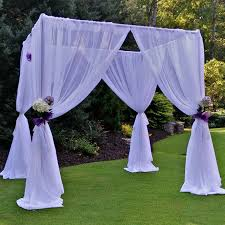 wedding chuppah rent wedding chuppah just 4 party rentals in santa barbara ca