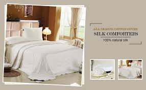 Silk Comforters Luxury Silk Quilts Cheap Sale U2013 Ease Bedding With Style