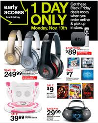 friday black target shop the target black friday 2014 early access ad for today