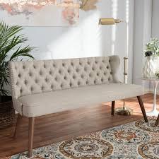 1143 best chairs sofas u0026 zuo puget blue cotton linen blend sofa 100220 the home depot