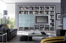 Wohnzimmerschrank Ohne Glas Wohnwand Bücherwand Lack Weiß Matt Schiebetür Glas