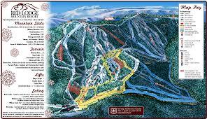 Magic Mountain Map Red Lodge Mountain Skimap Org