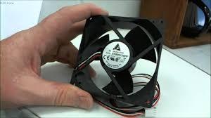 high cfm case fan delta high power 92mm computer case fan review efb0912shf youtube