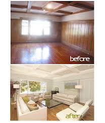 update wood paneling paneled walls before and after found the before after here i