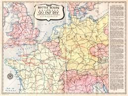 Iu Map Major Robert F Burns 90th Division Report Of Operations