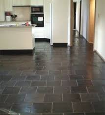 kitchen floor tile slate whatcha got cookin