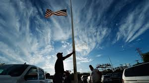 Texas Flag Half Staff Tragedy In Real Time Living A Terrible Week Vicariously Npr