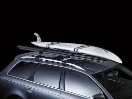 porta surf auto portatablas de surf thule sailboard carrier 833 negrillo es