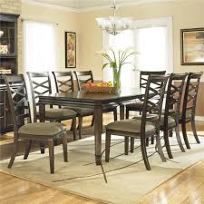 ashley furniture farmhouse table hayley contemporary rectangular table with 8 chairs by ashley