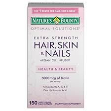 amazon com nature u0027s bounty extra strength hair skin nails 150