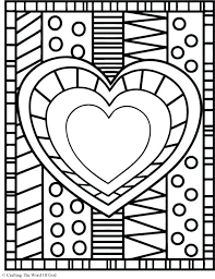 hearts coloring pages heart coloring pages images of photo albums