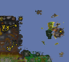 Runescape 2007 World Map by Mod Roq Jagexroq Twitter