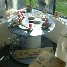 touret bois deco faire une table basse avec une bobine u2013 phaichi com
