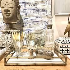 serena glass decanter u2013 laurier blanc unique home decor from