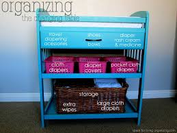 Blue Changing Table Baby On A Budget Budget Breakdown Space For Living Organizing