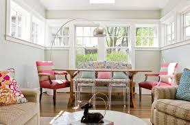 marvellous floor lamp near pink sofa beside long table under