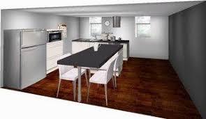 ilot cuisine avec table table de cuisine centrale ilot 7 notre choix cuisine avec ilot