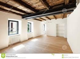 Loft Modern Modern Loft Empty Room Stock Photo Image 40016479