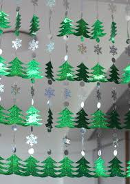 Snowflake Curtains Christmas Aliexpress Com Buy Diy Sequined Curtains Christmas Drop
