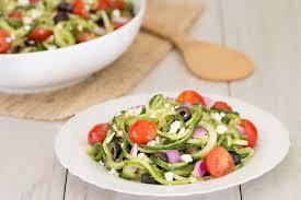 noodle salad recipes healthy pasta salad recipe swap go greek cucumber noodle salad