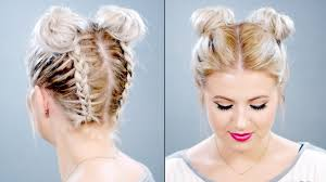 hair buns for hair how to braided space buns on hair milabu
